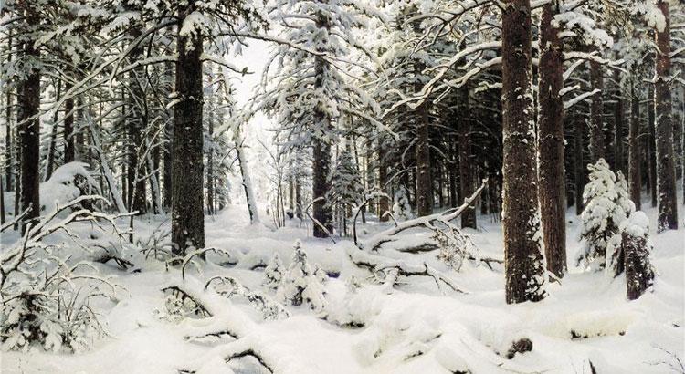Шишкин И.И. Зима