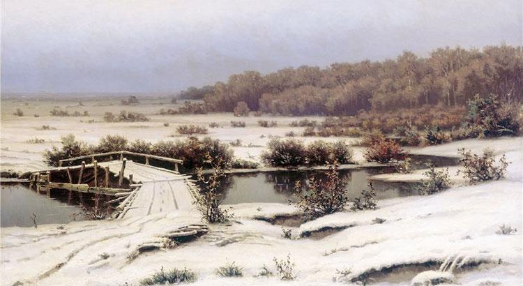 Волков Е.Е. Ранний снег