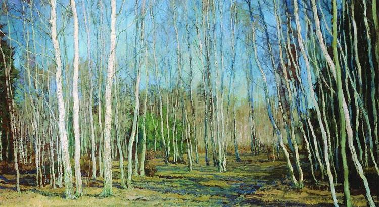 В.Бакшеев. Голубая весна.
