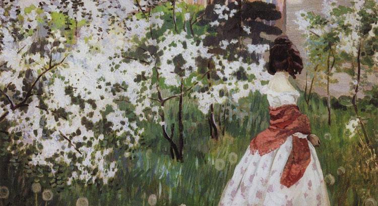 В.Борисов-Мусатов. Весна.