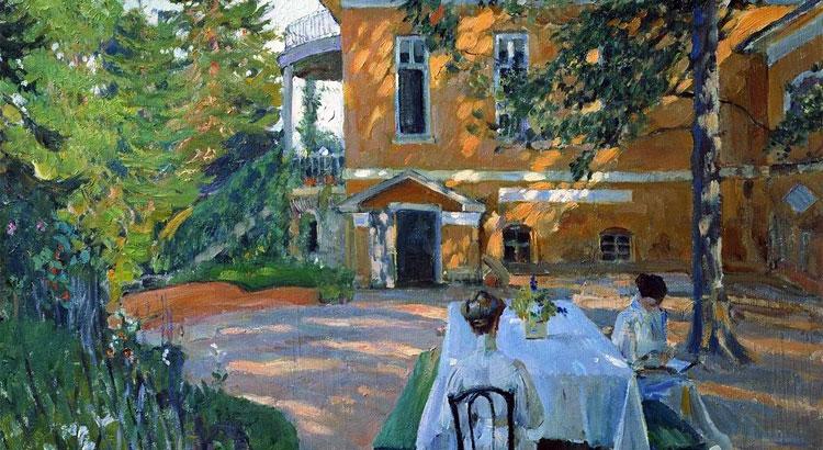 Виноградов С. А. Летом. 1908
